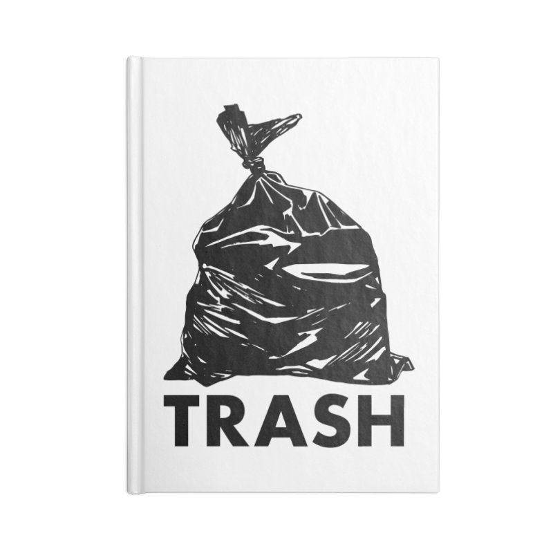 Actual Trash Accessories Blank Journal Notebook by Abyssmal
