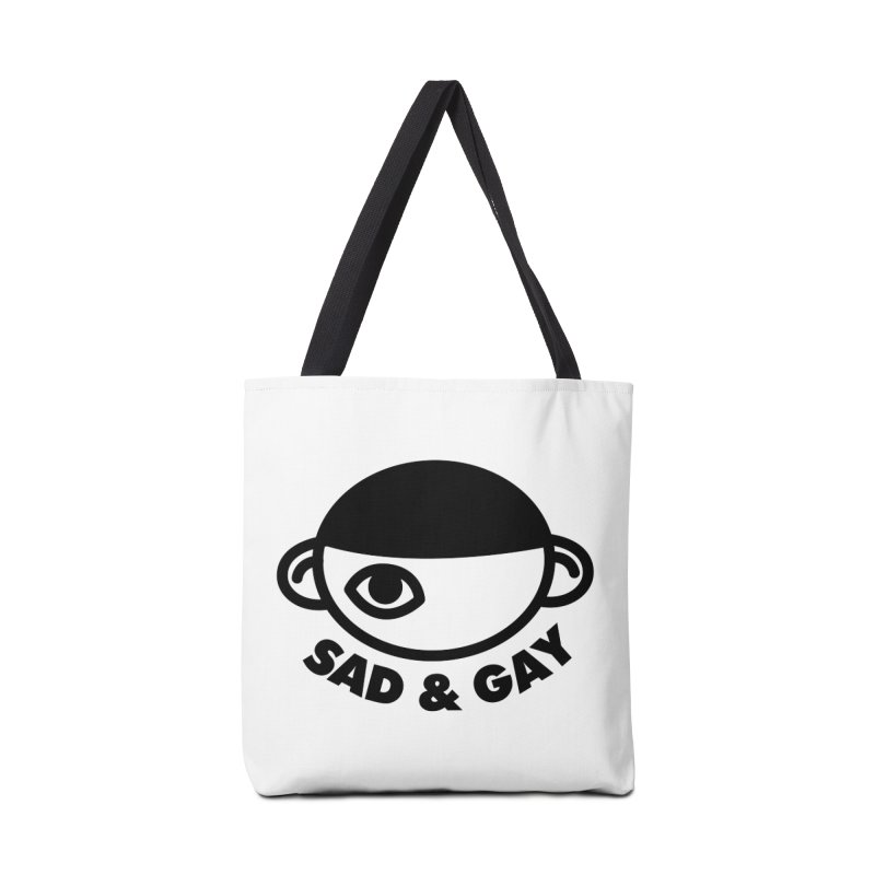 Sad & Gay Accessories Tote Bag Bag by Abyssmal