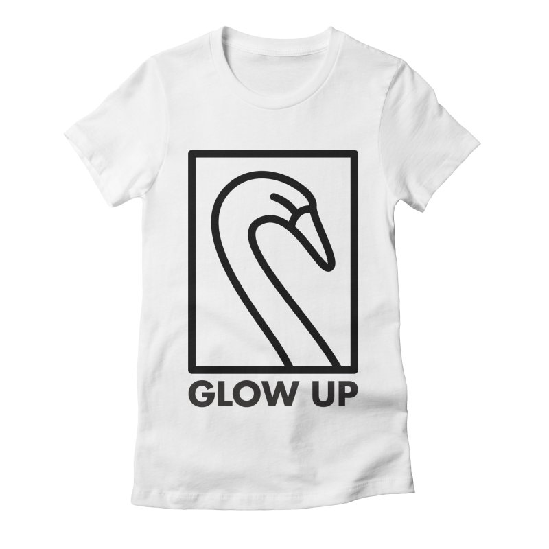 Glow Up Women's Fitted T-Shirt by Abyssmal