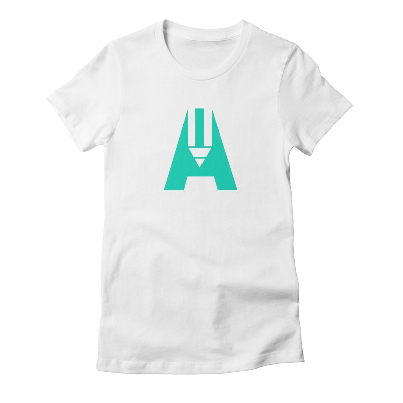 Academic in Women's Fitted T-Shirt White by The Academic Shop
