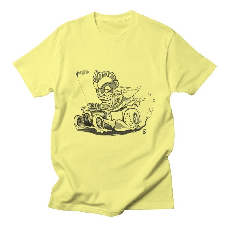 going down tiki way Men's T-Shirt by accable art shop