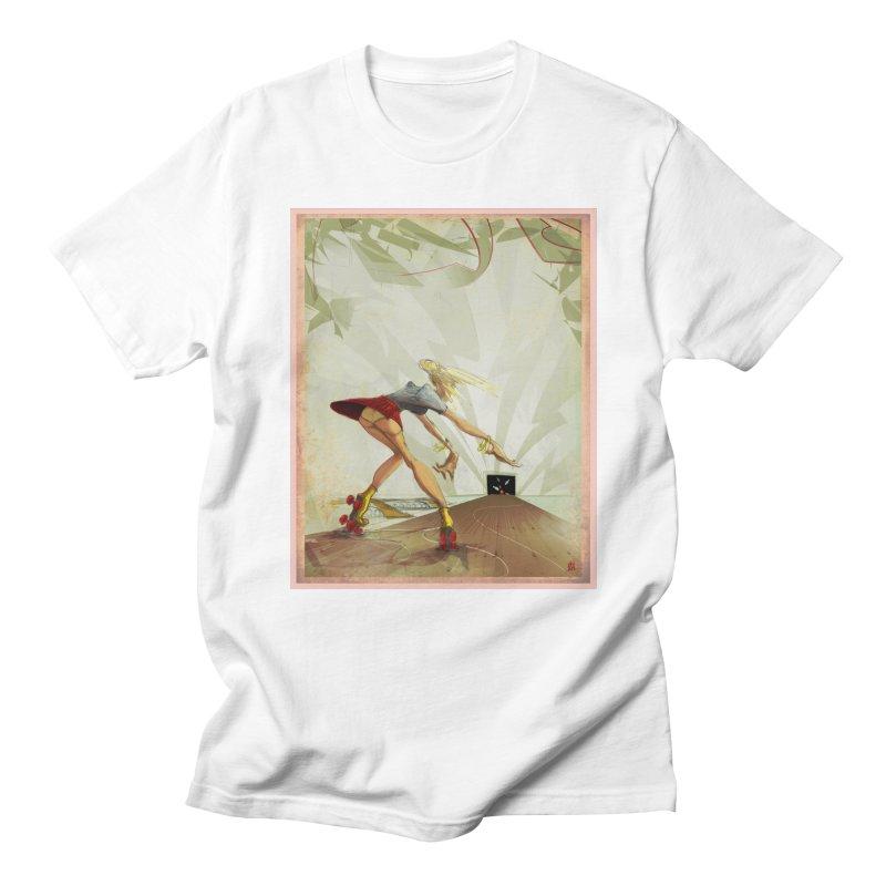 roller bowler Men's T-shirt by accable art shop