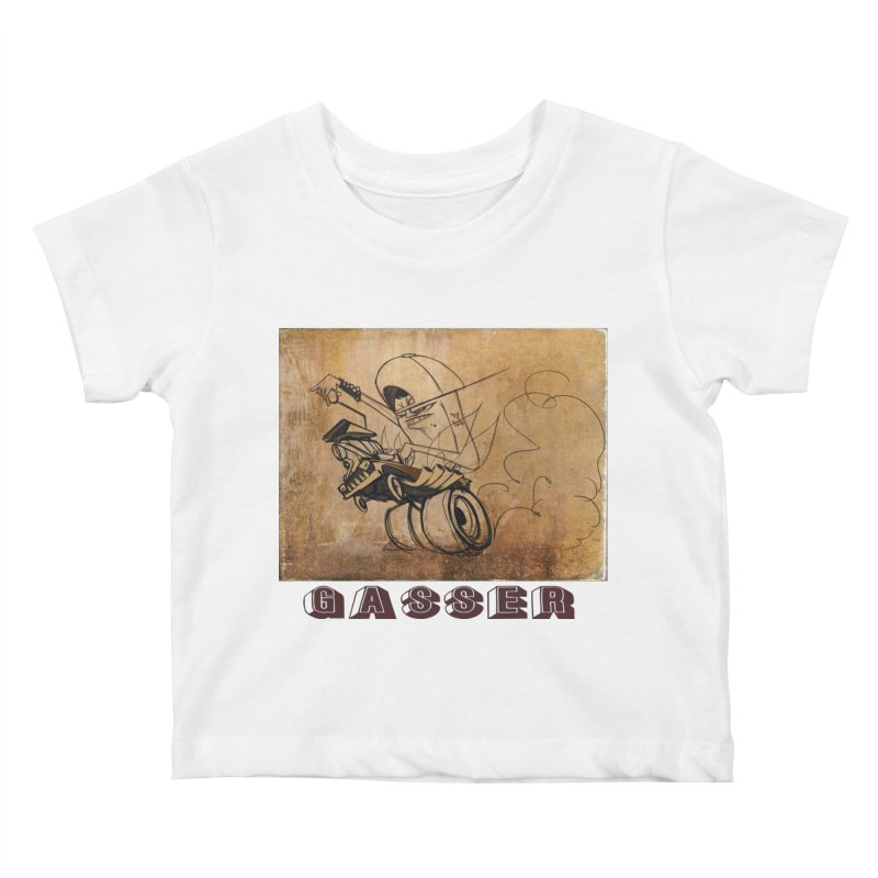 gasser Kids Baby T-Shirt by accable art shop