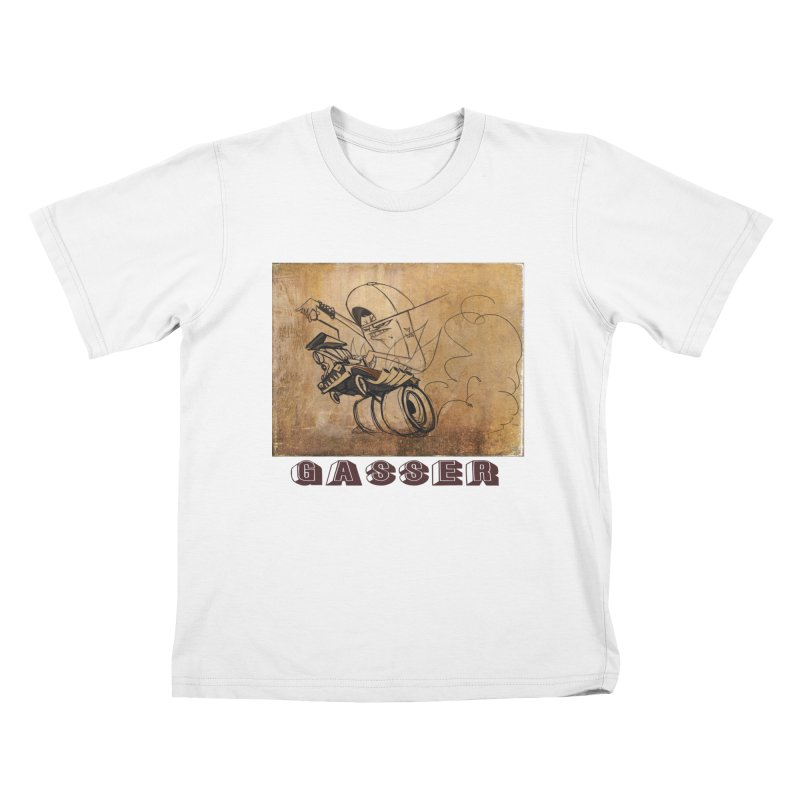 gasser Kids T-shirt by accable art shop
