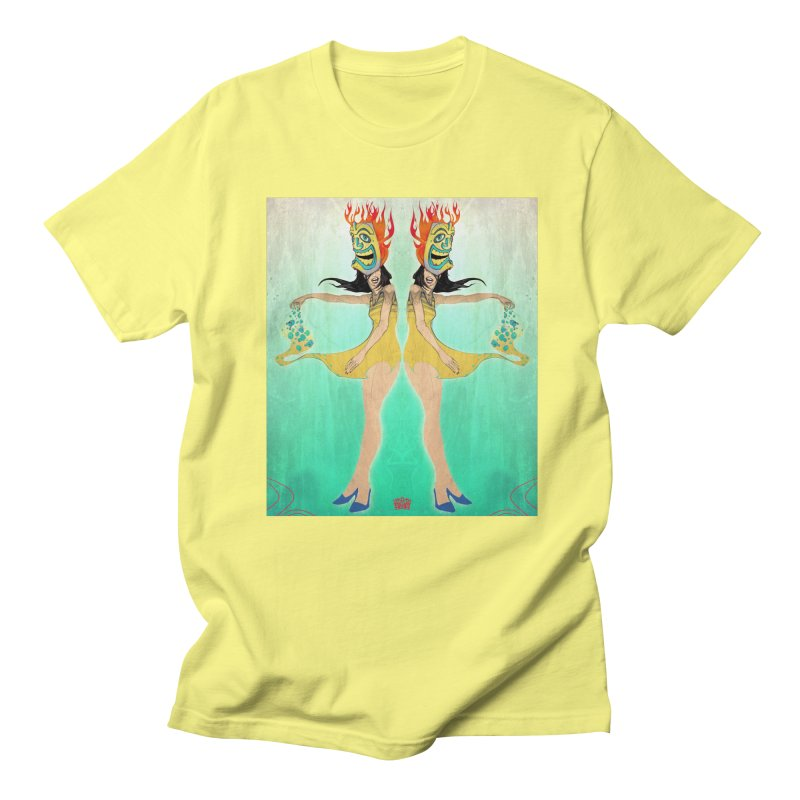 tiki land Men's T-shirt by accable art shop