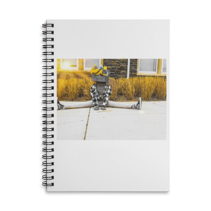 Split Decision Accessories Notebook by Access Art's Youth Artist Shop