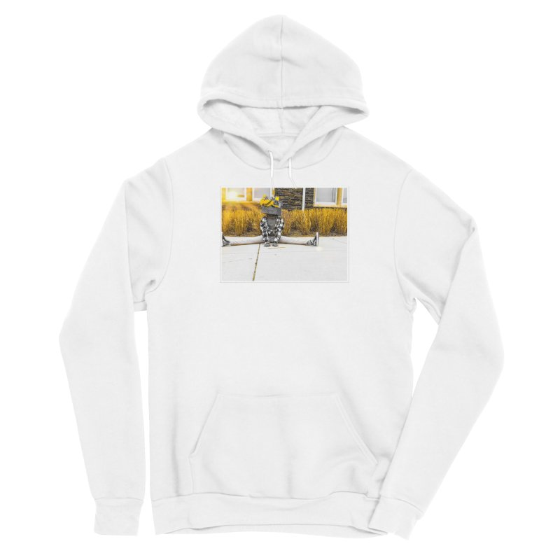 Split Decision Men's Pullover Hoody by Access Art's Youth Artist Shop