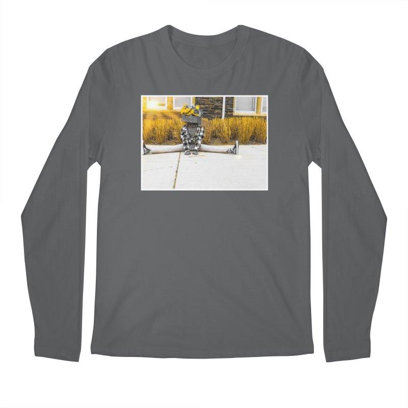 Split Decision Men's Longsleeve T-Shirt by Access Art's Youth Artist Shop