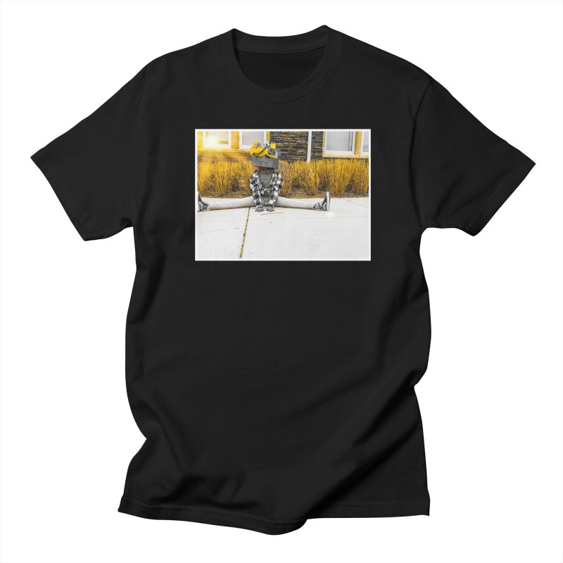 Split Decision Men's T-Shirt by Access Art's Youth Artist Shop