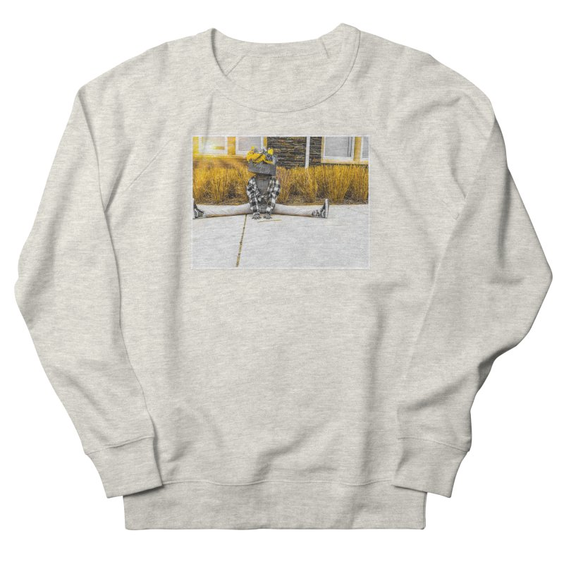 Split Decision Women's Sweatshirt by Access Art's Youth Artist Shop