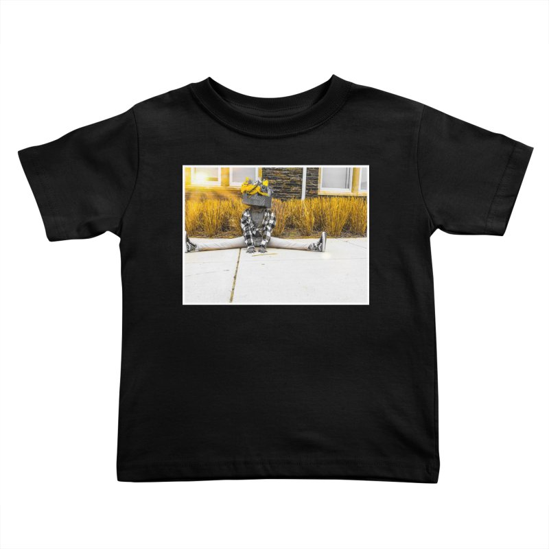 Split Decision Kids Toddler T-Shirt by Access Art's Youth Artist Shop
