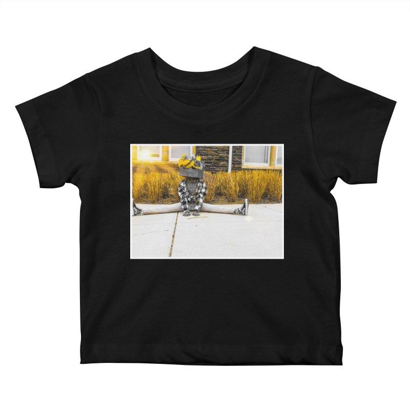 Split Decision Kids Baby T-Shirt by Access Art's Youth Artist Shop