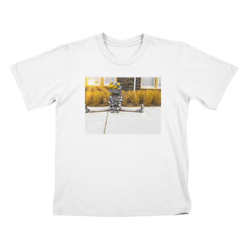 Split Decision Kids T-Shirt by Access Art's Youth Artist Shop