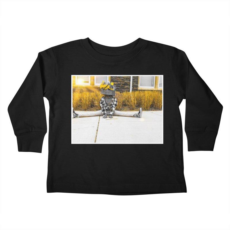 Split Decision Kids Toddler Longsleeve T-Shirt by Access Art's Youth Artist Shop