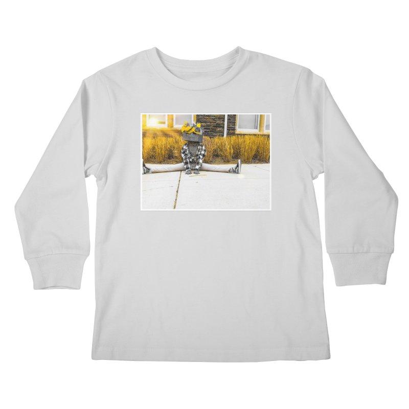 Split Decision Kids Longsleeve T-Shirt by Access Art's Youth Artist Shop
