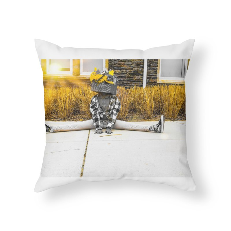 Split Decision Home Throw Pillow by Access Art's Youth Artist Shop