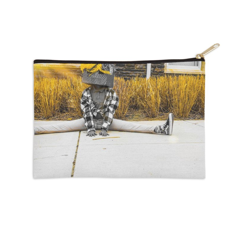 Split Decision Accessories Zip Pouch by Access Art's Youth Artist Shop