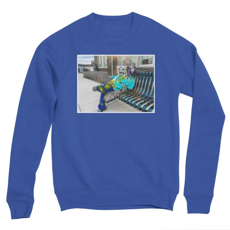 Throne Men's Sweatshirt by Access Art's Youth Artist Shop