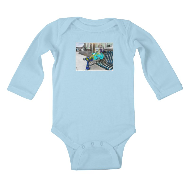 Throne Kids Baby Longsleeve Bodysuit by Access Art's Youth Artist Shop