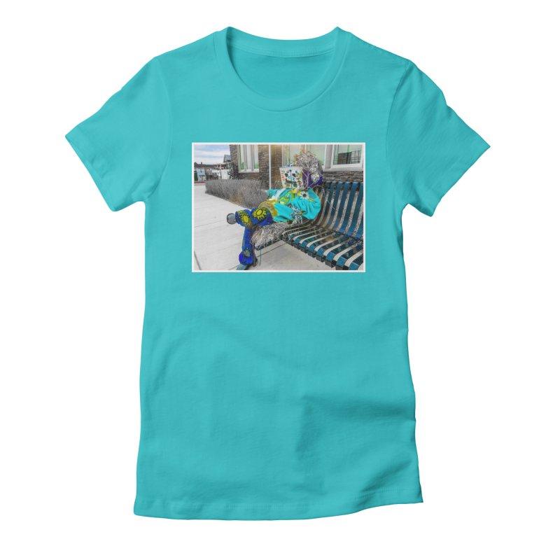 Throne Women's T-Shirt by Access Art's Youth Artist Shop