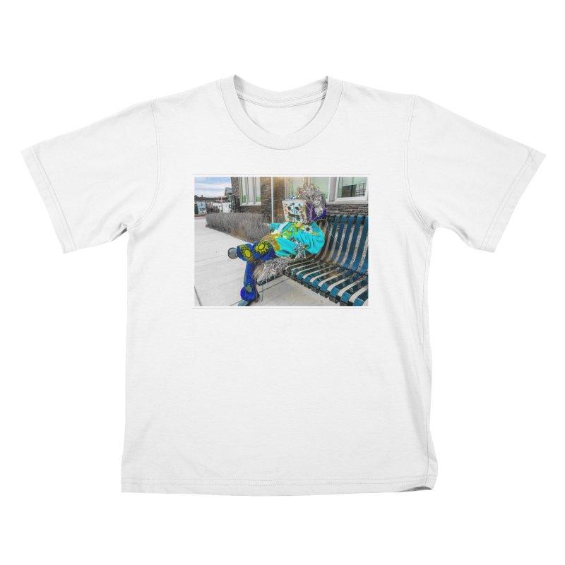 Throne Kids T-Shirt by Access Art's Youth Artist Shop