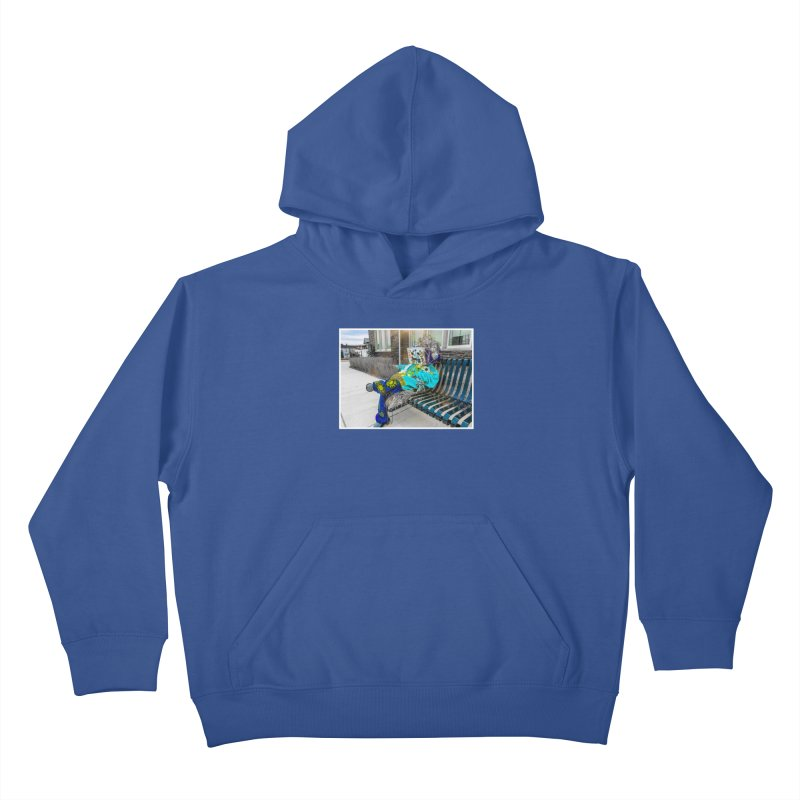 Throne Kids Pullover Hoody by Access Art's Youth Artist Shop