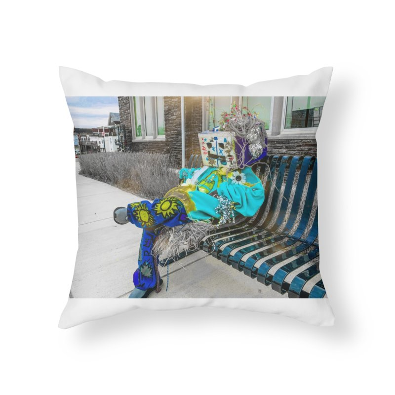Throne Home Throw Pillow by Access Art's Youth Artist Shop