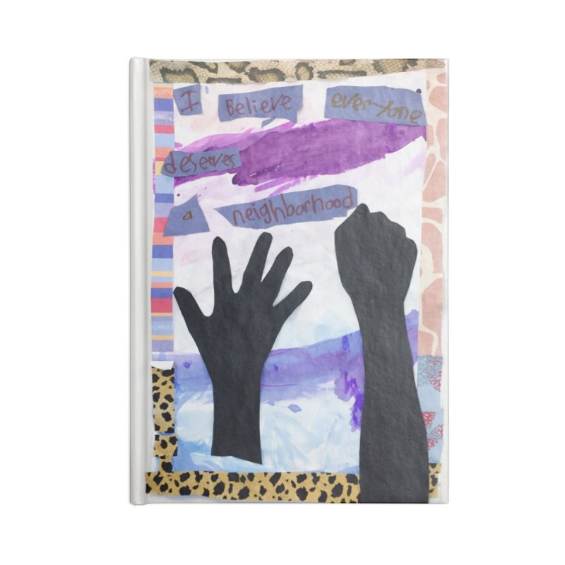 I Believe Accessories Notebook by Access Art's Youth Artist Shop