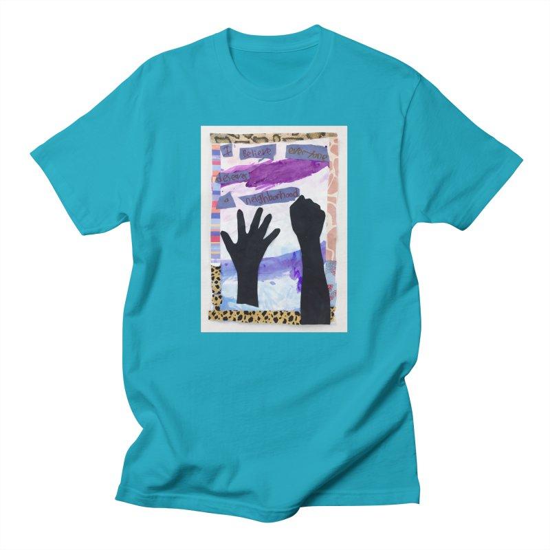 I Believe Men's T-Shirt by Access Art's Youth Artist Shop