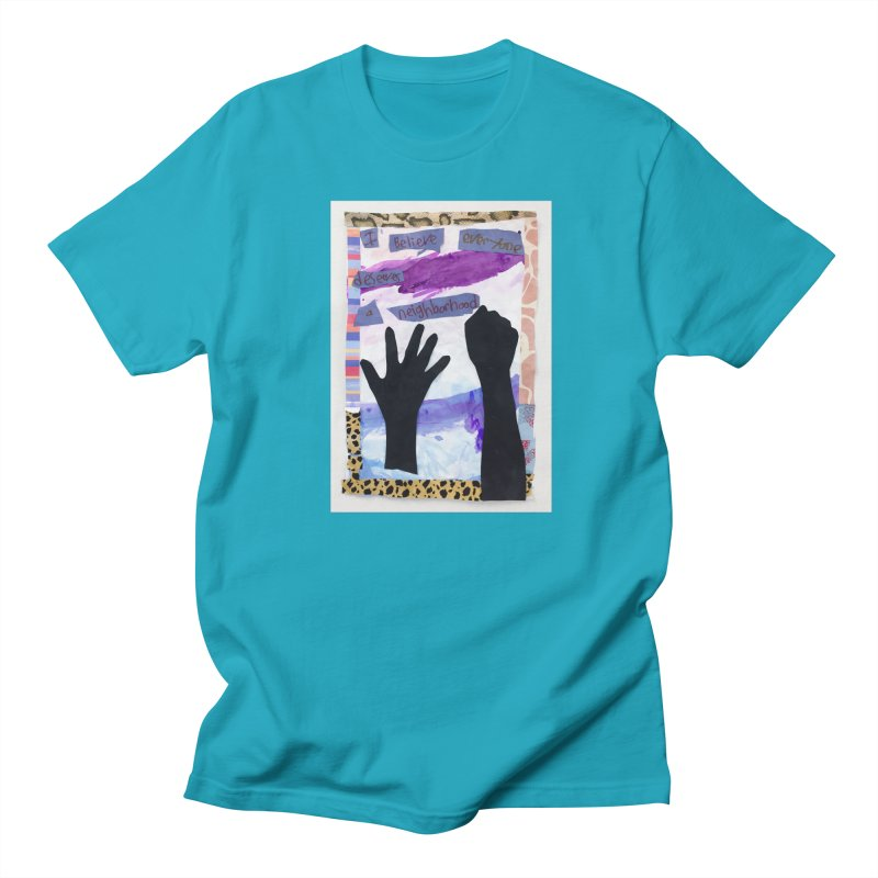 I Believe Men's T-Shirt by Access Art's Youth Artist Shop