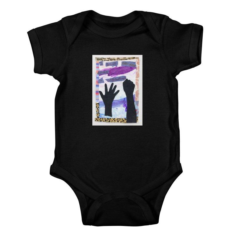 I Believe Kids Baby Bodysuit by Access Art's Youth Artist Shop