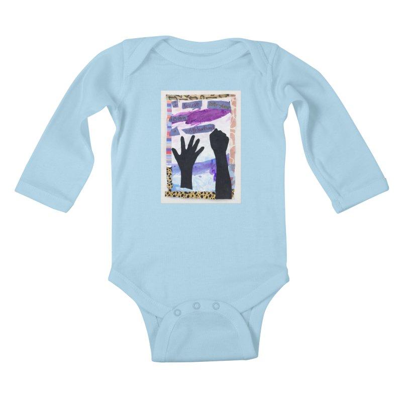 I Believe Kids Baby Longsleeve Bodysuit by Access Art's Youth Artist Shop