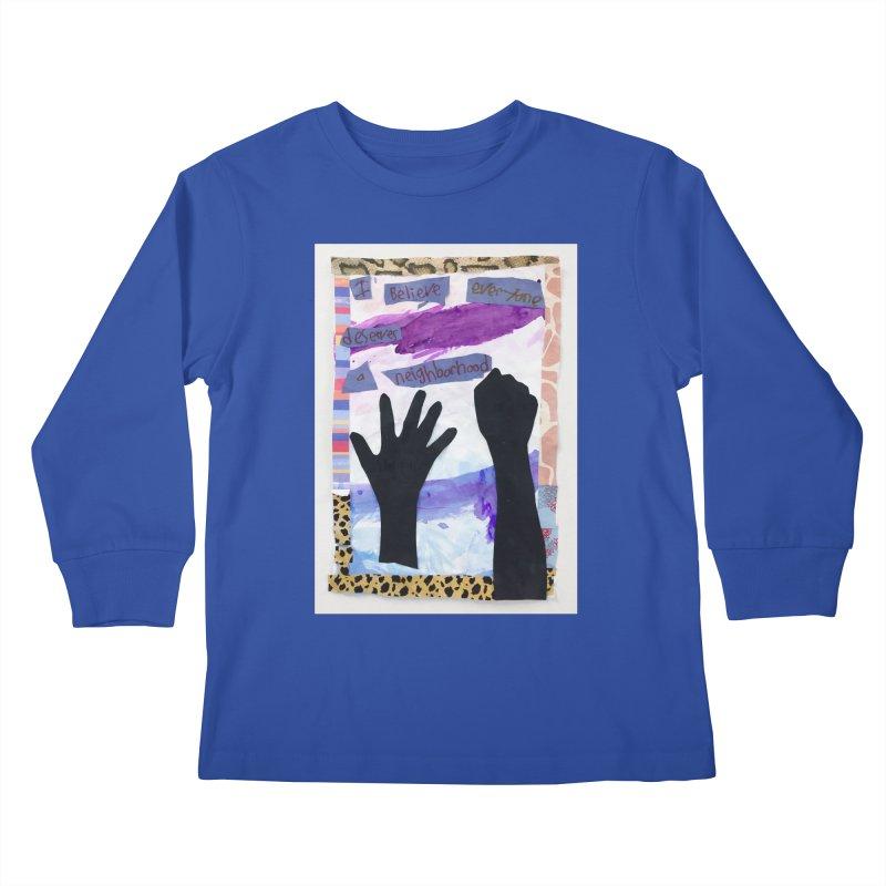 I Believe Kids Longsleeve T-Shirt by Access Art's Youth Artist Shop