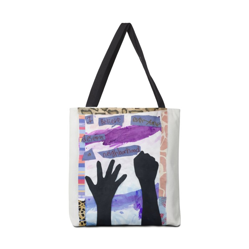 I Believe Accessories Bag by Access Art's Youth Artist Shop