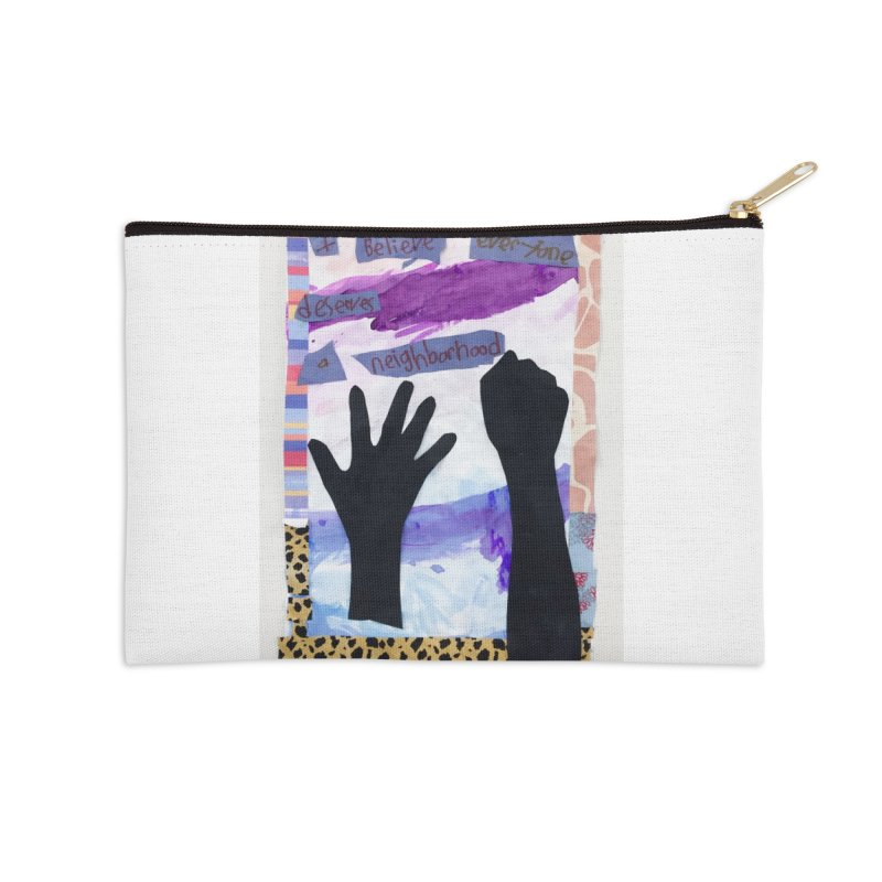 I Believe Accessories Zip Pouch by Access Art's Youth Artist Shop