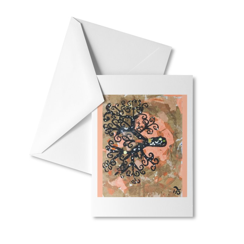 Tree of MY Life Accessories Greeting Card by Access Art's Youth Artist Shop
