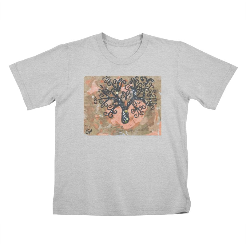 Tree of MY Life Kids T-Shirt by Access Art's Youth Artist Shop