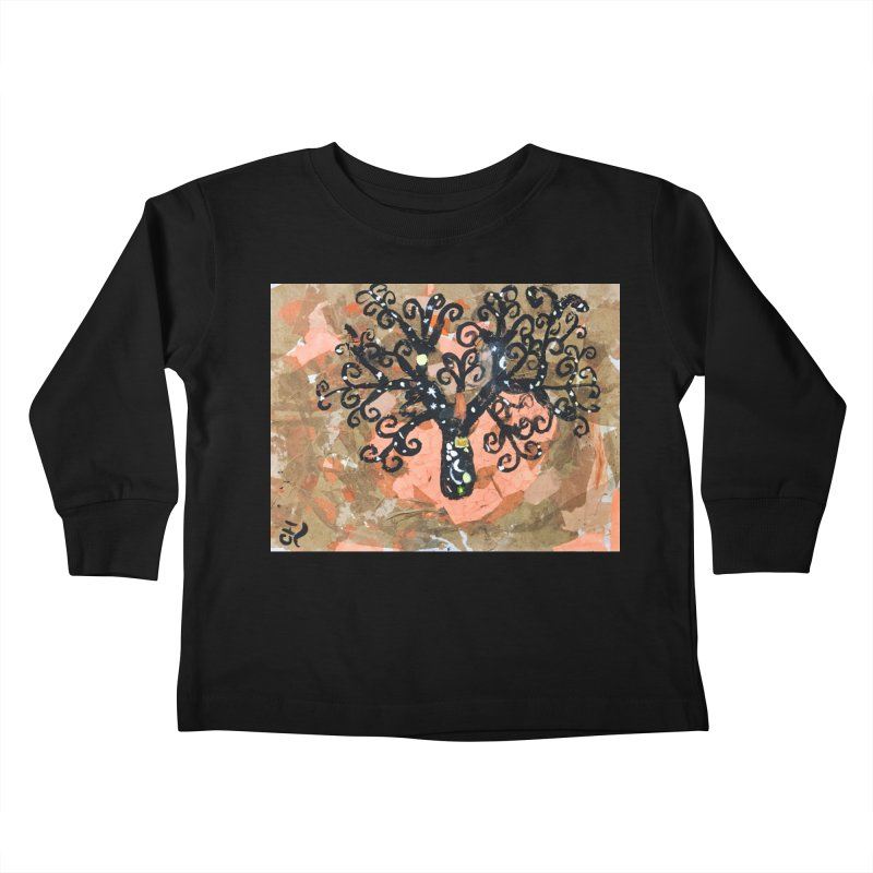 Tree of MY Life Kids Toddler Longsleeve T-Shirt by Access Art's Youth Artist Shop