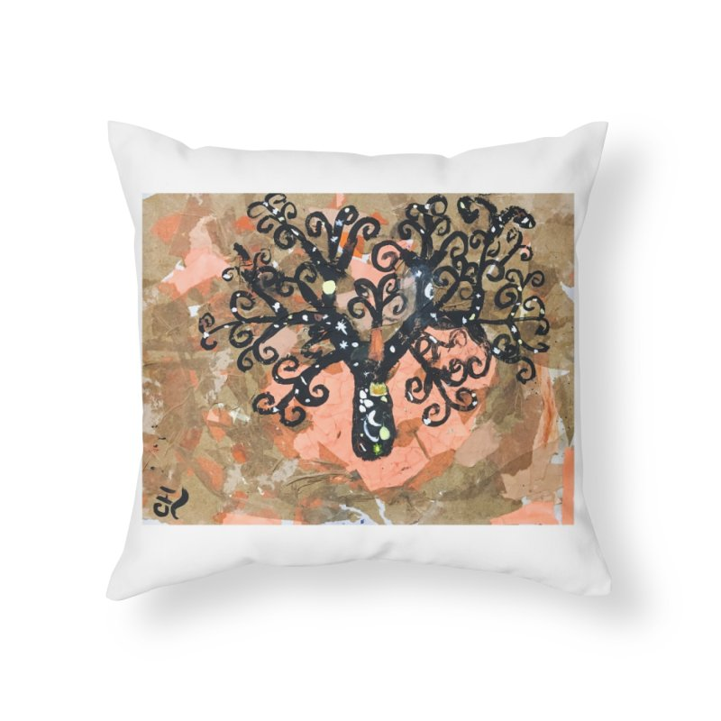 Tree of MY Life Home Throw Pillow by Access Art's Youth Artist Shop