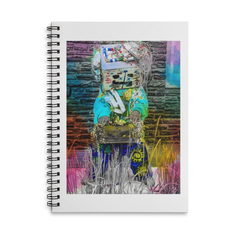 DJ Play My Color Jam Accessories Notebook by Access Art's Youth Artist Shop