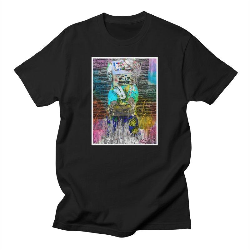 DJ Play My Color Jam Men's T-Shirt by Access Art's Youth Artist Shop