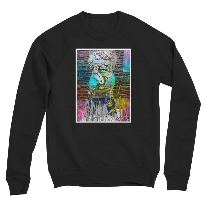 DJ Play My Color Jam Men's Sweatshirt by Access Art's Youth Artist Shop