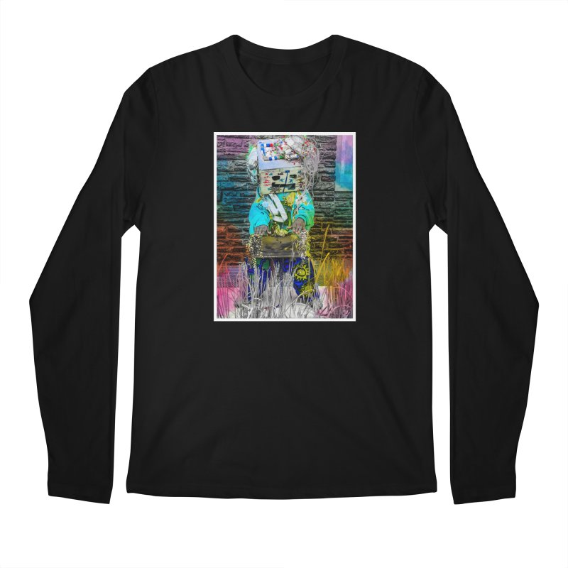 DJ Play My Color Jam Men's Longsleeve T-Shirt by Access Art's Youth Artist Shop