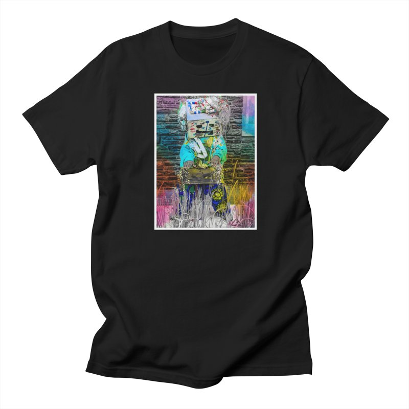 DJ Play My Color Jam Men's T-Shirt by Access Art's Youth Artist Shop