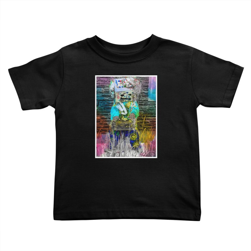 DJ Play My Color Jam Kids Toddler T-Shirt by Access Art's Youth Artist Shop