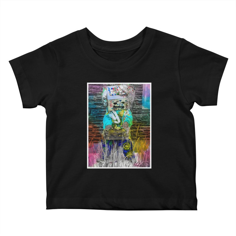 DJ Play My Color Jam Kids Baby T-Shirt by Access Art's Youth Artist Shop