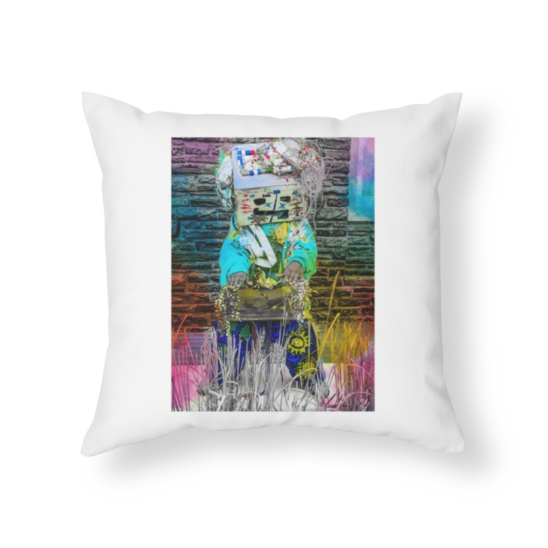 DJ Play My Color Jam Home Throw Pillow by Access Art's Youth Artist Shop