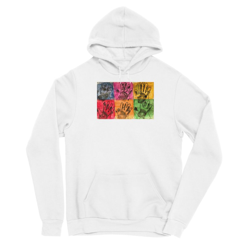 Warhol Hands Women's Pullover Hoody by Access Art's Youth Artist Shop