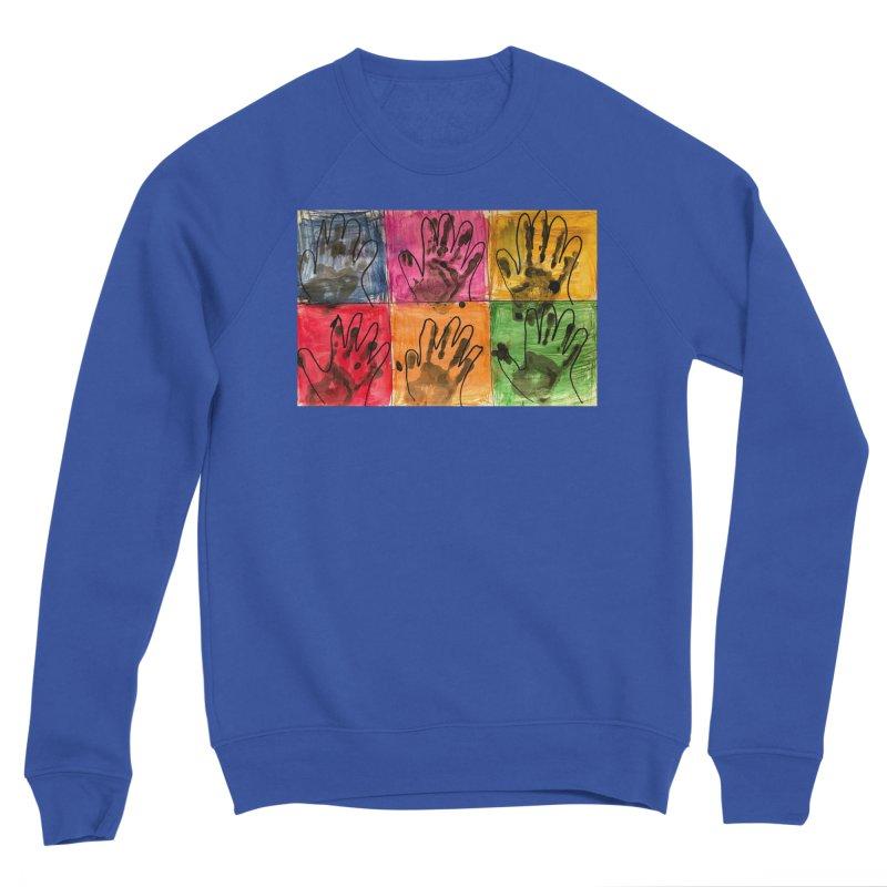 Warhol Hands Women's Sweatshirt by Access Art's Youth Artist Shop