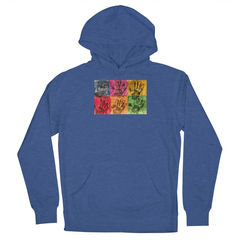 Warhol Hands Men's Pullover Hoody by Access Art's Youth Artist Shop